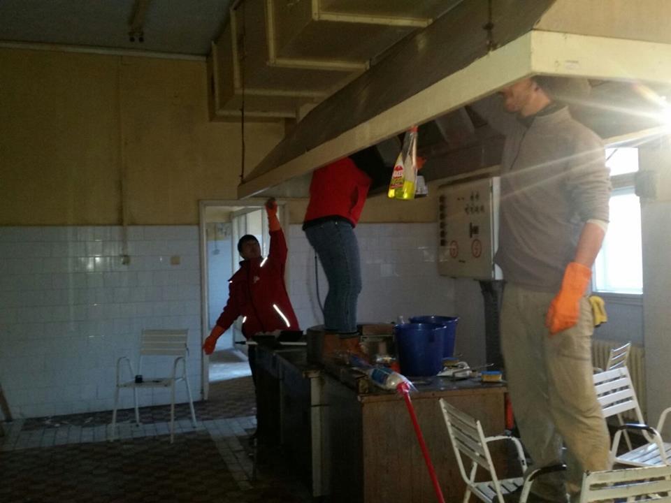 Čišćenje i priprema za rad nove kihinje